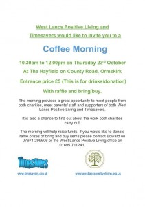 Poster Coffee Morning 23 Oct 14